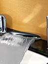 Nutida Badkar och dusch Vattenfall Utbredd Keramisk Ventil Tre hål Två handtag tre hål Krom, Badkarskran