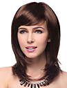 syntetiska hår peruker raka naturliga hårlinje skiktade hårklipp med bangs capless party peruk kändis peruk halloween peruk karneval peruk