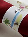 Material Servetele de nunta - 50pcs Altele Inele de șervețele Nuntă Aniversare Party / Seara Petrecere Logodnă Cheful Burlacelor Temă