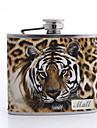 cadou zi de imprimare leopard tatălui personalizate de 5 uncii balon din piele PU