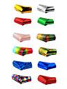 12PCS Laser Foil Nail Decorations Starry Nail Stickers(120x4x0.1cm)