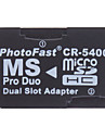 Micro SD / TF stick de memorie pro duo cititor CR-5400 (două culori)