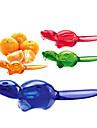 1 st Orange Skalare & rivjärn For för frukt Rostfritt Stål Multifunktion Miljövänlig Kreativ Köksredskap Originella