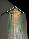 mässing temperatur kontroll dusch modern led dusch handdusch huvudet