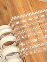 bande de motif de dentelle transparente (couleur aléatoire)