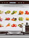 Fructe 75x45cm& legume model rezistent la ulei dovada de apă caldă-dovada autocolant perete bucatarie