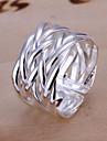 Pentru femei plaited Band Ring - Argilă, Aliaj Design Unic, Deschis Ajustabil Argintiu Pentru Nuntă / Petrecere / Cadou