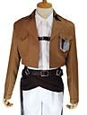Inspirat de Atac pe Titan Armin Arlert Anime Costume Cosplay Costume Cosplay Mată Manșon Lung Cravată Geacă Cămașă Pantaloni Accesoriu