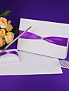 Guest Book Pen Set Satin Polyester Ribbons Guest Book