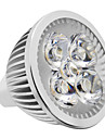 4W Spot LED 380-420 lm Blanc Chaud Blanc Naturel K DC 12 V