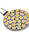 G4 GU4(MR11) Spot LED 30 diodes electroluminescentes SMD 3528 Blanc Chaud 90-110lm 3000K AC 12V