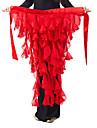 رقص شرقي حزام للمرأة شيفون كشاكش حزام البطن شال الورك للرقص / قاعة رقص
