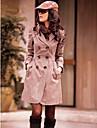 Noua moda de dantelă spatele strat de praf arată că femeile subtire Jacheta & Coat