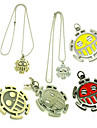 Bijoux Inspire par One Piece Trafalgar Law Manga Accessoires de Cosplay Colliers decoratifs Alliage Homme chaud