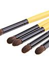 5pcs Pinceaux a maquillage Professionnel Pinceau Fard a Paupieres Poil Synthetique Gros Pinceau / Classique