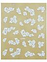 1st Rose Pattern bröllop nagel konst Sticker