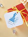 Tag-uri favorizează personalizate - mireasa si mirele (set de 36)