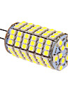 G4 LED-lampa T 118 lysdioder SMD 5050 Kallvit 400lm 5500-6500K DC 12V