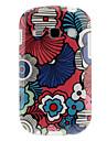 Colorat Petale model TPU Soft înapoi caz acoperire pentru Samsung Galaxy Fame S6810