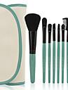 7pcs Makyaj fırçaları Profesyonel Fırça Setleri Sentetik Saç / Suni Fibre Fırça Bakterileri Kısıtlar