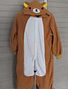 Pijama Kigurumi Urs Pijama Întreagă Costume Lână polară Cosplay Pentru Adulți Sleepwear Pentru Animale Desen animat Halloween Festival /