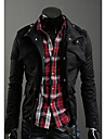 Shangdu Fashion îngroșa Coat (Negru)