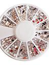 Mixed-mönster Acryl Diamond Wheel nagel konst Dekorationer
