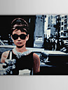 toile tendue art pop art gens Audrey Hepburn de Breakfast at Tiffany pret a accrocher