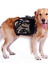 Câine rucsac Îmbrăcăminte Câini Sport camuflaj Verde Costume Pentru animale de companie