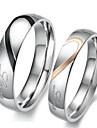 Pentru femei Inele Cuplu Inel de logodna Iubire de Mireasă Teak Heart Shape Bijuterii Pentru Nuntă Petrecere Zi de Naștere Logodnă Zilnic