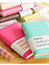mini zâmbet fata notebook jurnal colorat (culoare aleatorii)
