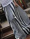 Pentru femei de primăvară cauzale Zebra Stripes fusta