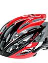 FJQXZ Femme Homme Unisexe Velo Casque 26 Aeration Cyclisme Cyclisme Cyclisme sur Route M : 55-59cm L : 59-63cm Polycarbonate EPS Rouge