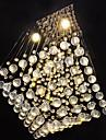 SL® Modern Kristall Takmonterad Glödande - stearinljus stil, 110-120V / 220-240V 1 Glödlampa Glödlampa inkluderad / GU10 / 20-30㎡
