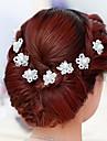 krystalové imitace perlové vlasy pin headpiece klasický ženský styl