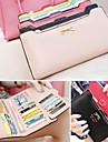 Kvinnors koreanska versionen av söta och Bow Multi-Card handväska Lång Plånbok