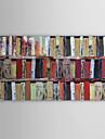 Pictat manual Abstract Panoramică orizontală pânză Hang-pictate pictură în ulei Pagina de decorare Un Panou