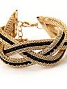 Kushang armure perle lettres bracelet
