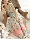 Pentru femei de vara V-Neck suferi Belt Casual lung Dress