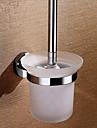 Suport Perie Toaletă Detașabil Contemporan Alamă 1 piesă - Hotel baie