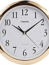 "Timess ™ 11 ""H Style élégant placage or rose superbe Horloge murale Muet"