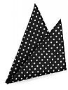 Polka Dot pătrat 16 batistă de proiectare bărbați xinclubna® lui (1 buc)