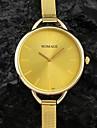 pentru Doamne Ceas La Modă Quartz Bandă Argint / Auriu Marca-