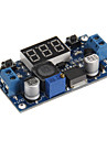 HZDZ LM2596 Power Step-down Voltage Regulator Module Voltmeter Display - Deep Blue