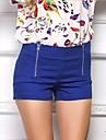 Femei Femei Pantaloni Simplu(ă) Scurt Poliester Micro-elastic
