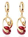 moda unic de design 18k Cercei zircon aur pentru femei