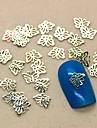 200 Nail Smycken Andra dekorationer Blomma Abstrakt Klassisk Tecknat Vackert Bröllop Dagligen Blomma Abstrakt Klassisk Tecknat Vackert