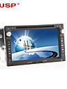 """cusp® 7 """"2 DIN DVD auto TFT jucător pentru 2001-2011 passat vw cu bluetooth, GPS, iPod, RDS, ATV-uri"""