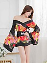Pentru femei Uniforme & Cheongsams Pijamale - Imprimeu, Floral/Botanic