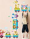 animale de autocolante de perete desene animate DIY instrui camere lavabil decalcomanii de perete Kid